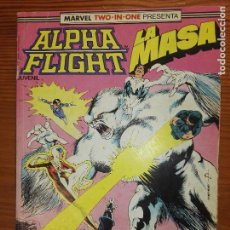 Fumetti: MARVEL TO IN ONE ALPHA FLIGHT DEL 57 AL 59. Lote 111049015