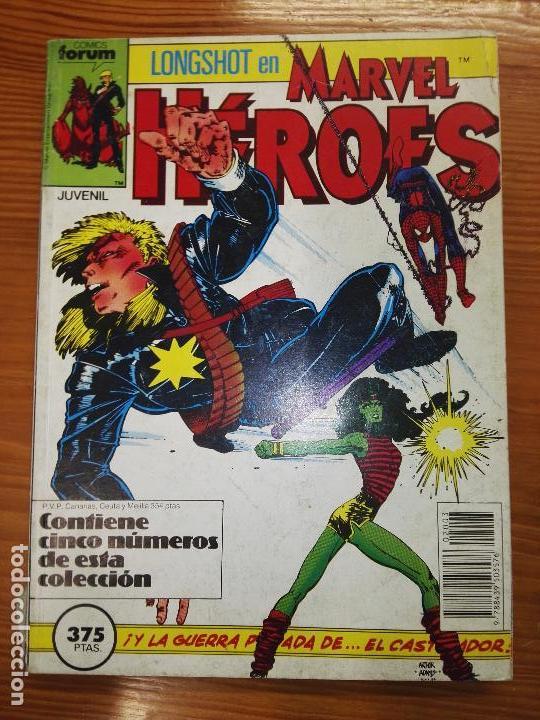 MARVEL HÉROES DEL 16 AL 20 (Tebeos y Comics - Forum - Retapados)
