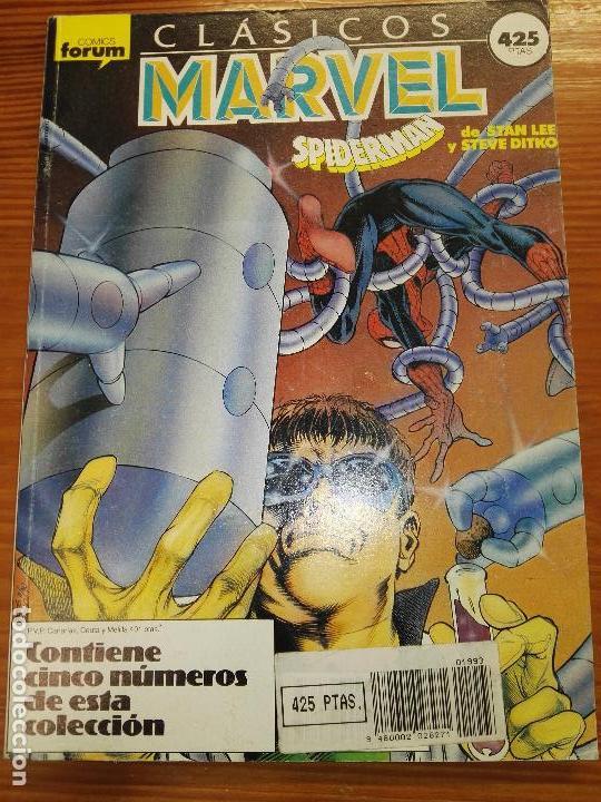 CLASICOS MARVEL DEL 31 AL 35 (Tebeos y Comics - Forum - Retapados)