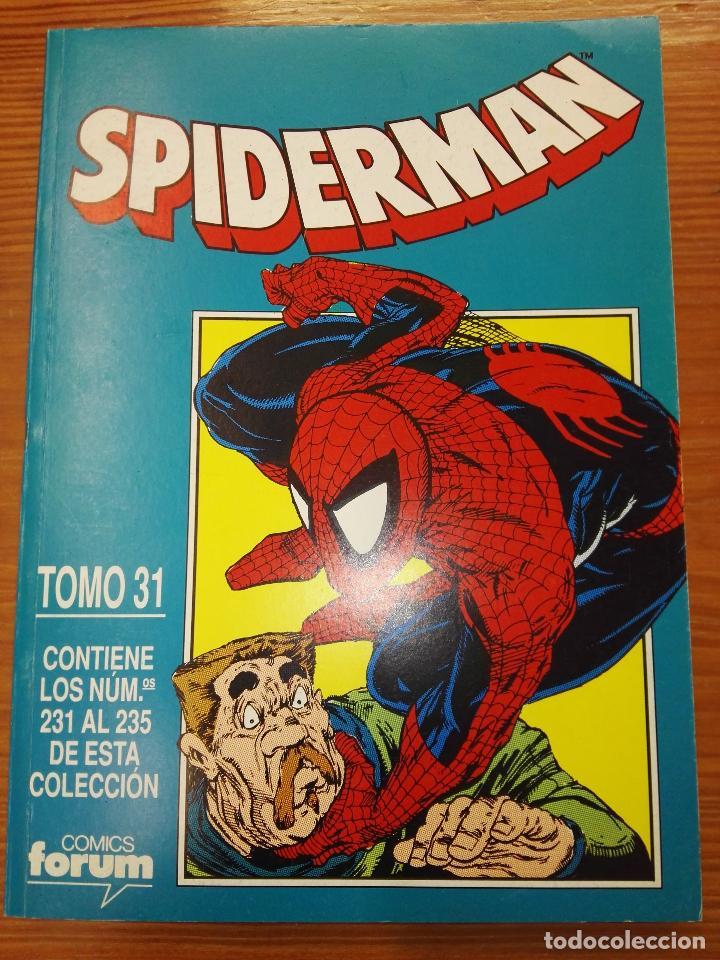 SPIDERMAN DEL 231 AL 235 TOMO 31 (Tebeos y Comics - Forum - Retapados)
