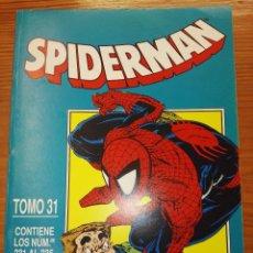 Comics: SPIDERMAN DEL 231 AL 235 TOMO 31. Lote 111056015