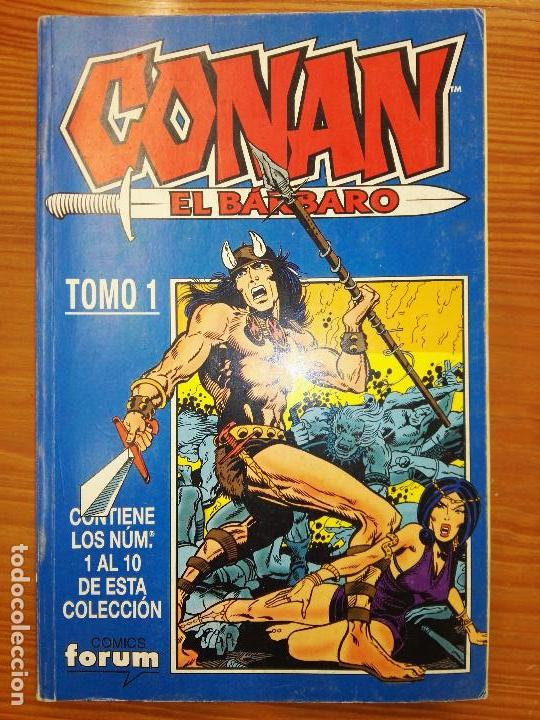 CONAN EL BARBARO DEL 1 AL 10 TOMO 1 (Tebeos y Comics - Forum - Retapados)