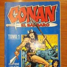 Cómics: CONAN EL BARBARO DEL 1 AL 10 TOMO 1. Lote 111057875