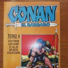 Cómics: CONAN EL BARBARO DEL 21 AL 23 TOMO 4. Lote 111057995