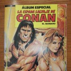 Cómics: ÁLBUM ESPECIAL LA ESPADA SALVAJE DE CONAN DEL 96 AL 98. Lote 111058503