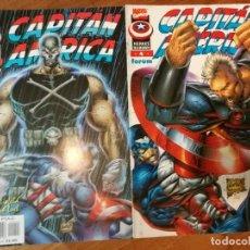 Cómics: LOTE 2 COMICS CAPITÁN AMERICA - HEROES REBORN NÚMERO 3 I 4 - COMICS FORUM 1997. Lote 111113139