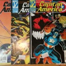 Cómics: LOTE 3 COMICS CAPITÁN AMERICA - STEVE ROGERS - NÚMERO 3 ,4 ,5 - COMICS FORUM 1996. Lote 111113507