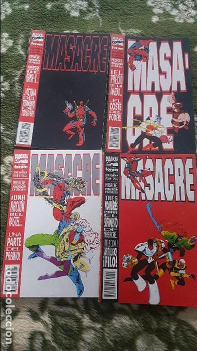 MASACRE VOL.1 (OBRA COMPLETA 4 NÚMEROS) - FORUM (Tebeos y Comics - Forum - X-Men)