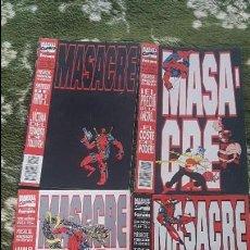 Cómics: MASACRE VOL.1 (OBRA COMPLETA 4 NÚMEROS) - FORUM. Lote 144684729