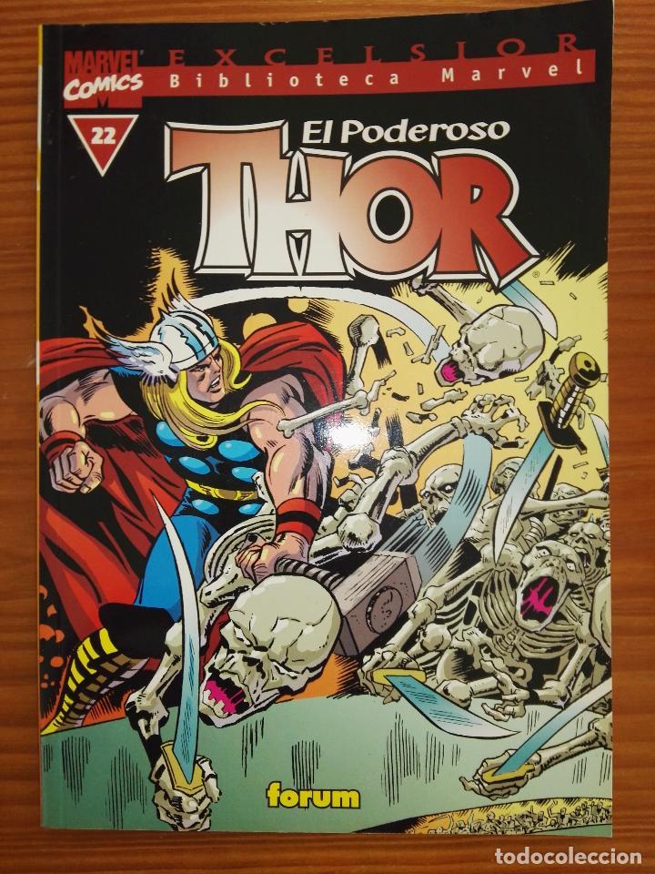 BIBLIOTECA MARVEL EXCELSIOR EL PODEROSO THOR22 (Tebeos y Comics - Forum - Thor)