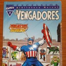 Cómics: BIBLIOTECA MARVEL EXCELSIOR LOS VENGADORES 3. Lote 111200171