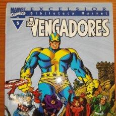 Cómics: BIBLIOTECA MARVEL EXCELSIOR LOS VENGADORES 5. Lote 111200251