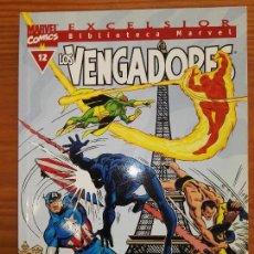 Cómics: BIBLIOTECA MARVEL EXCELSIOR LOS VENGADORES 12. Lote 111200391