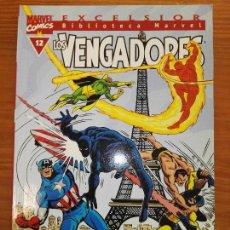 Cómics: BIBLIOTECA MARVEL EXCELSIOR LOS VENGADORES 12. Lote 111200419