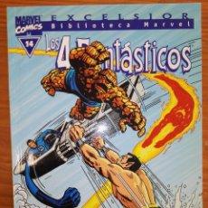 Comics : BIBLIOTECA MARVEL EXCELSIOR LOS 4 FANTASTICOS 14. Lote 111200667