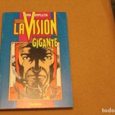 Cómics: LA VISIÓN OBRA COMPLETA, RETAPADO, 4 NÚMEROS, EDITORIAL FORUM. Lote 111372787