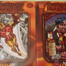 Cómics: TESOROS MARVEL 7 Y 8 LOS DOS TOMOS DE IRON MAN INCLUIDOS EN LA COLECCION. Lote 111402763