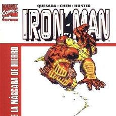 Cómics: IRON MAN TOMO EL HOMBRE DE LA MASCARA DE HIERRO. Lote 111404687