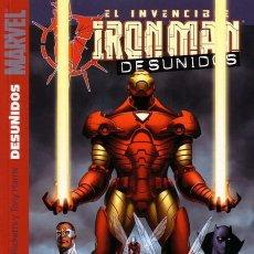 Cómics: IRON MAN TOMO DESUNIDOS. Lote 111404947