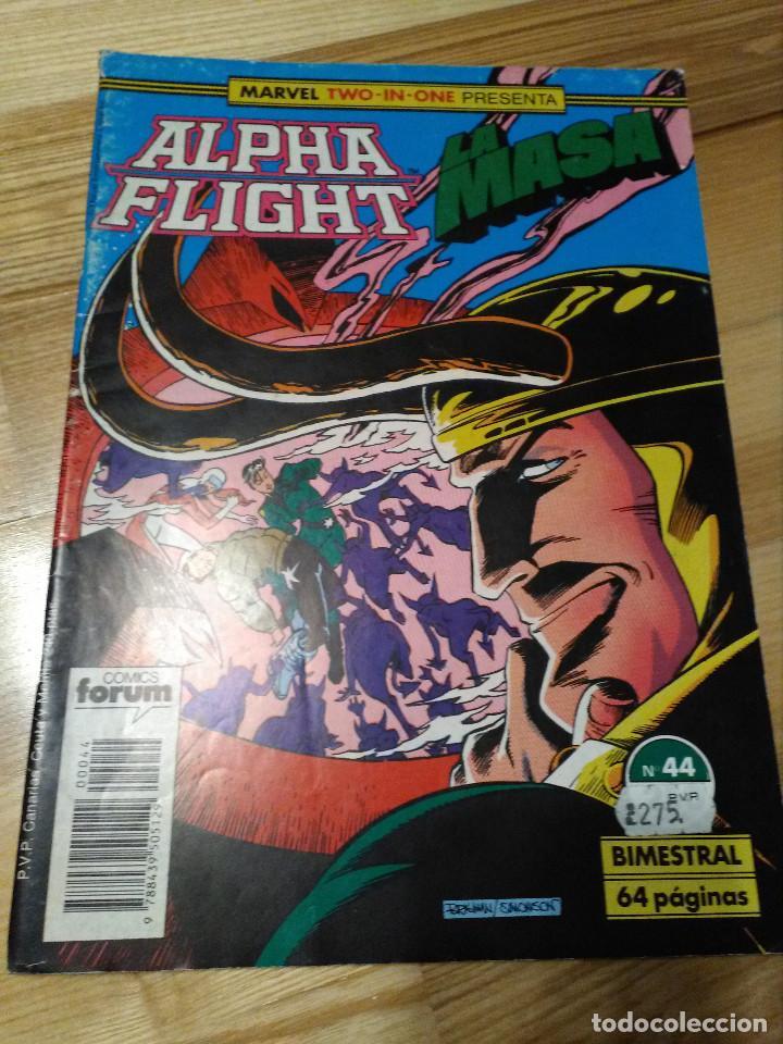 COMIC ALPHA FLIGHT + HULK LA MASA Nº 44 FORUM PLANETA (Tebeos y Comics - Forum - Alpha Flight)