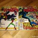 Cómics: COMIC MARVEL HEROES RETAPADO CON LOS NUMEROS 16 AL 20 FORUM PLANETA PANTERA NEGRA. Lote 111413923