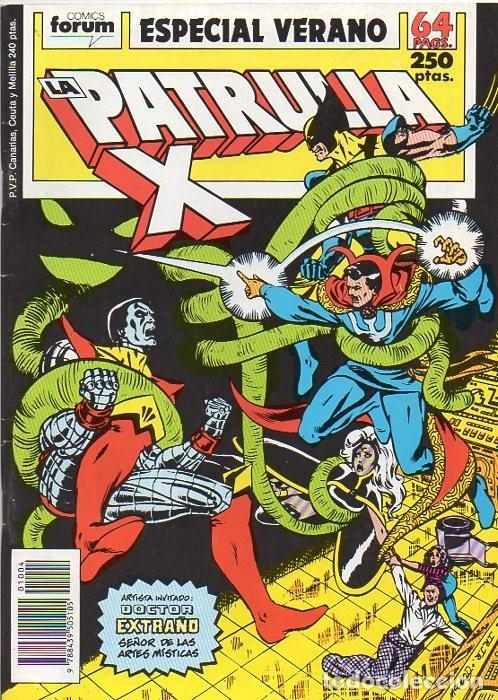 LA PATRULLA-X ESPECIAL VERANO 1989 - FORUM (Tebeos y Comics - Forum - Patrulla X)