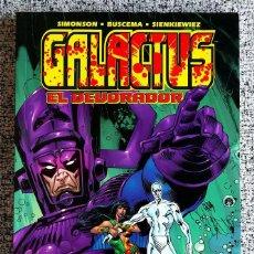 Cómics: GALACTUS EL DEVORADOR - ONE SHOT 176 PÁGS. - FORUM - SNZBCN. Lote 111545483