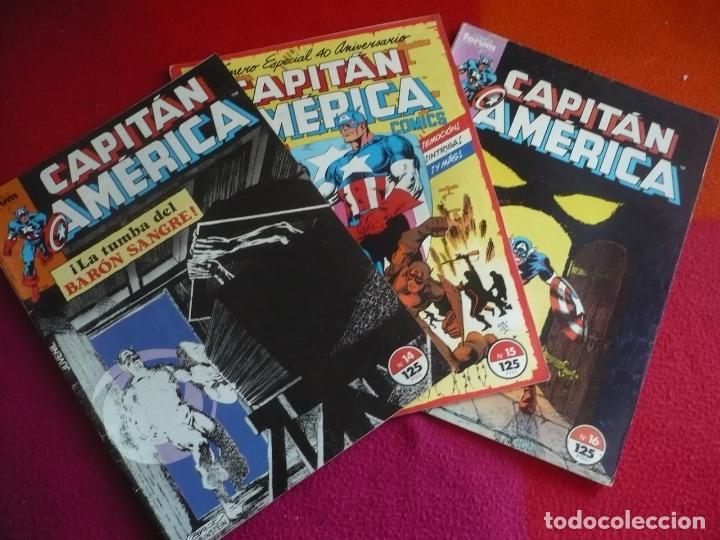 CAPITAN AMERICA VOL. 1 NºS 14, 15 Y 16 ( STERN JOHN BYRNE ) ¡BUEN ESTADO! FORUM MARVEL (Tebeos y Comics - Forum - Capitán América)