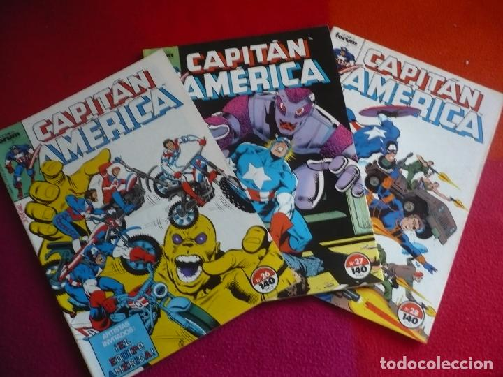 Cómics: CAPITAN AMERICA VOL. 1 NºS 26, 27 Y 28 ( DEMATTEIS ZECK ) ¡BUEN ESTADO! FORUM MARVEL - Foto 1 - 111565427