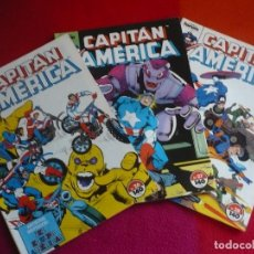 Cómics: CAPITAN AMERICA VOL. 1 NºS 26, 27 Y 28 ( DEMATTEIS ZECK ) ¡BUEN ESTADO! FORUM MARVEL. Lote 111565427