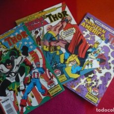 Cómics: CAPITAN AMERICA THOR VOL. 1 NºS 54, 56 Y 60 ( SIMONSON ) ¡BUEN ESTADO! FORUM MARVEL TWO IN ONE. Lote 111565607