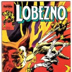 Cómics: LOBEZNO - ED. PLANETA / FORUM, 1989 - Nº 9. Lote 111649243