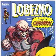 Cómics: LOBEZNO - ED. PLANETA / FORUM, 1989 - Nº 18. Lote 111650279