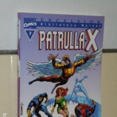 Cómics: BIBLIOTECA MARVEL EXCELSIOR PATRULLA - X Nº 7 - FORUM. Lote 111777819
