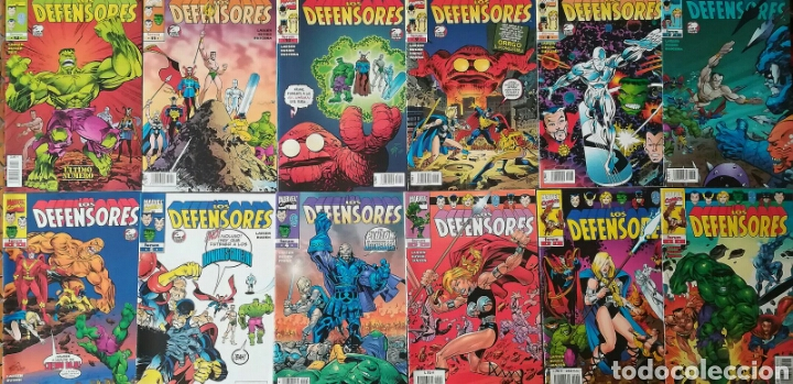 LOS DEFENSORES 12 GRAPAS (Tebeos y Comics - Forum - Prestiges y Tomos)