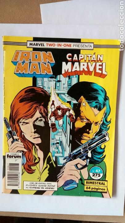 Cómics: MARVEL, IRON MAN, CAPITÁN MARVEL. N°47 - Foto 1 - 111855347