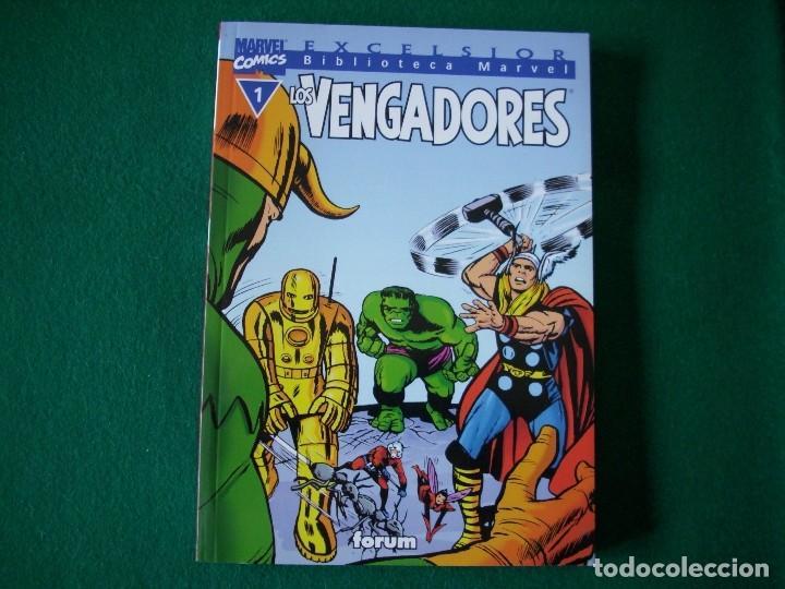 BIBLIOTECA MARVEL - LOS VENGADORES Nº 1 (Tebeos y Comics - Forum - Vengadores)