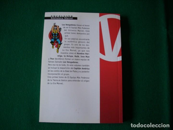 Cómics: BIBLIOTECA MARVEL - LOS VENGADORES Nº 1 - Foto 3 - 111922287