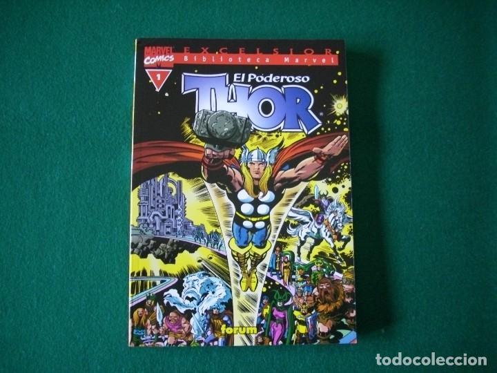 BIBLIOTECA MARVEL - EL PODEROSO THOR Nº 1 (Tebeos y Comics - Forum - Thor)