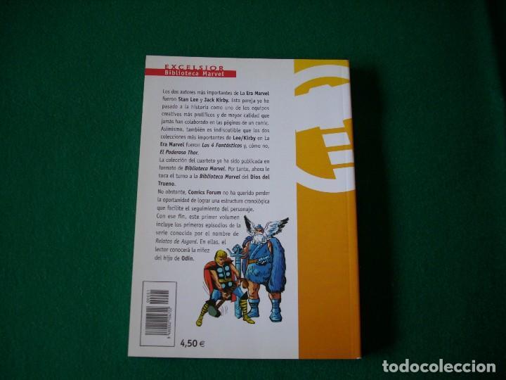 Cómics: BIBLIOTECA MARVEL - EL PODEROSO THOR Nº 1 - Foto 3 - 111922503