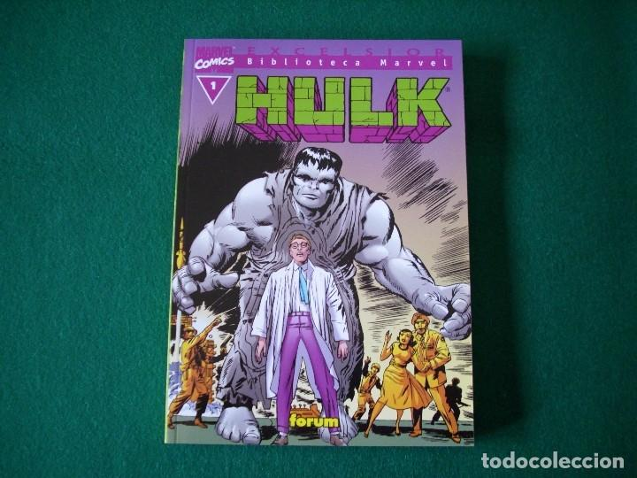 BIBLIOTECA MARVEL - HULK - Nº 1 (Tebeos y Comics - Forum - Hulk)