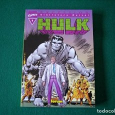 Cómics: BIBLIOTECA MARVEL - HULK - Nº 1. Lote 111922611