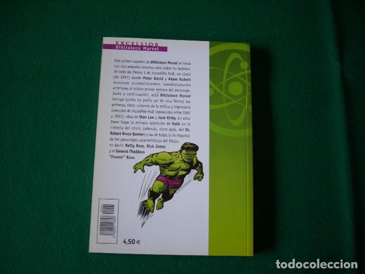 Cómics: BIBLIOTECA MARVEL - HULK - Nº 1 - Foto 3 - 111922611