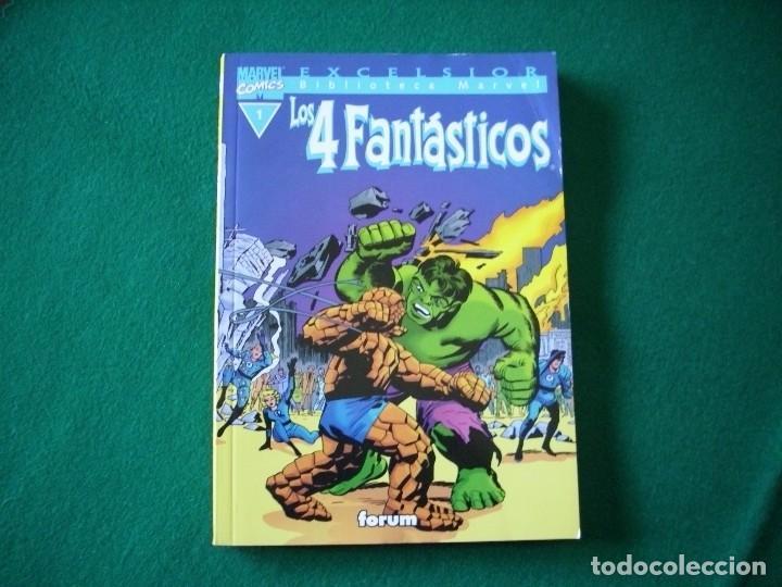 BIBLIOTECA MARVEL - LOS 4 FANTÁSTICOS Nº 1 (Tebeos y Comics - Forum - 4 Fantásticos)