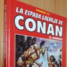 Comics : LA ESPADA SALVAJE DE CONAN Nº 12 - ED. COLECCIONISTA - TOMOS ROJOS. Lote 111988155