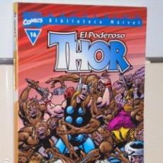 Cómics: BIBLIOTECA MARVEL EXCELSIOR EL PODEROSO THOR Nº 16 - FORUM -. Lote 265738399