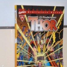 Comics: BIBLIOTECA MARVEL EXCELSIOR EL PODEROSO THOR Nº 21 - FORUM -. Lote 112000351