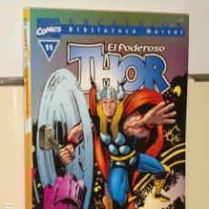 Comics: BIBLIOTECA MARVEL EXCELSIOR EL PODEROSO THOR Nº 11 - FORUM -. Lote 112002359