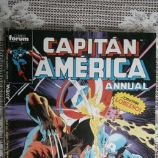 Cómics: CAPITAN AMERICA, Nº 23, COMICS FORUM, ANNUAL. Lote 112166447