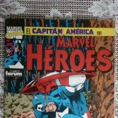 Cómics: EL CAPITAN AMERICA EN MARVEL HEROES, Nº 51, COMICS FORUM. Lote 112167203